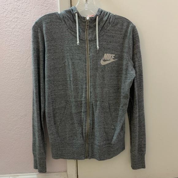 Nike Tops - Nike Grey Zip Up